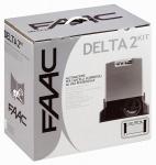 Kit FAAC Delta 230V intégral 500 kg
