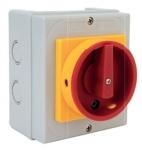 Interrupteur de proximité - 4 Pôles - 32 Ampères - Saillie - Geba