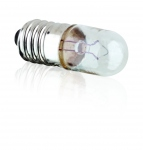 Lampe Miniature - Culot E10 - 24 Volts - 2 Watts - Tube 10 x 28 - ABI - Aurora AB1830