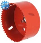 Scie cloche HSS bi-métal diamètre 86 mm