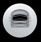 Bouche extraction autoréglable diamètre 125mm 45/135 série BARJ