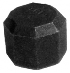 Bouchon Femelle - Fonte Malleable 300 Noir - 50x60 - Atusa 30021008