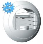 Bouche extraction autoréglable diamètre 125mm 15 m3/h série BARJ
