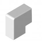 Angle plat - 40 x 25 - Blanc - TA-E - Iboco 00690