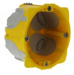 Boite cloison sèche 2 modules profondeur 40 mm Legrand Energy