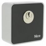 Contacteur à clé - NICE EKS - Cylindre Rond - Saillie