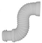 Pipe souple pour WC - Diamètre 100 / 110 mm - Extensible de 300 à 650 mm - Ceta 214-MULTIFORME