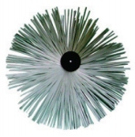 Hérisson polyamide - Ramonage par le bas PVC - Diamètre 250 - Progalva 1614