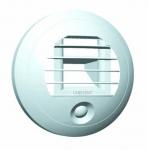 Bouche de ventilation Hygroréglable - 125 mm - 5-30m3/h - Spéciale WC - A pile