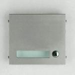 Façade - 1 Bouton - Pour gamme GT - Aiphone GF1P