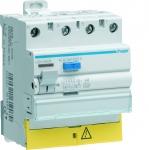 Interrupteur différentiel Hager - 40A - 30 mA - 3 Pôles + Neutre - Type HPI - Vis / Vis