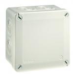 Boite de dérivation - 100 x 100 x 50 mm - Gris - Boite étanche - Iboco 05601