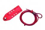 Système de consignation avec cable en acier