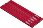 Crayon menuisier 18 cm rouge