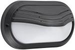 Hublot décoratif extérieur ovale longueur 271mm Aric Ovo 270P noir