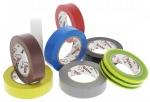 Ruban adh�sif �lectricien en rouleau pack de 8 couleurs