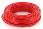 Fil rigide H07VU 1 x 1.5 mm� - Rouge - Couronne de 100 m�tres