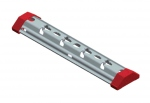 Suspension centrale - En acier galvanisé - 100 x 54 mm - Bizline