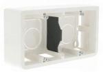 Cadre saillie 4/5 modules prof. 40 mm horizontal