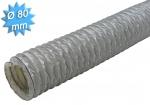 Gaine PVC souple diamètre 80 mm longueur de 20 mètres