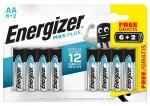 Pile Energizer Max Plus - AA x 6+2 - Energizer 423303