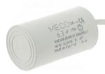Condensateur de démarrage - A câbles - 6.3 Micro Farad