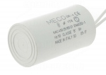 Condensateur de démarrage - A câbles - 8 Micro Farad