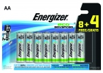 Pile alcaline Energizer Eco Advanced - LR03 - 1.5 Volts - Blister de 12 piles