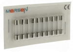 10 fusibles en verre 5 x 20 250V 10 Ampères type T (Temporisé)