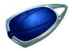 Badge de proximité - 13.56 MHZ - Bleu  - CDVI METAL