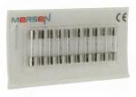 10 fusibles en verre 5 x 20 250V 1 Ampère type T (Temporisé)