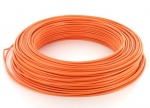 Fil rigide H07VU 1 x 1.5 mm² - Orange - Couronne de 100 mètres