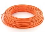 Fil rigide H07VU 1 x 1.5 mm� - Orange - Couronne de 100 m�tres