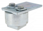 Pivot Haut - A souder - Pour portail à battants  - Diamètre 70 mm - 800 kg