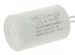Condensateur de démarrage - A câbles - 12.5 Micro Farad