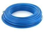 Fil rigide H07VU 1 x 1.5 mm² - Bleu - Couronne de 500 mètres