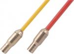 .Kit de 2 baguettes à connecteurs rotatifs diamètre 4 mm