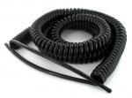 Cable spiralé 2x1 mm longueur 5 mètres