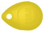 Badge / Clé de proximité - 13.56 - Jaune - Urmet MEMOPROX/J