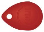 Badge / Clé de proximité - 13.56 - Rouge - Urmet MEMOPROX/R