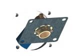 Plaque de fixation - Pour raccord à glissement monotrou - Pour tube PER ROBIFIX - Diamètre 12 - Gripp 008830