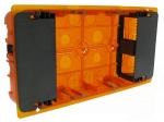 Boite multi-matériaux multimédia 2 x 5 modules Legrand Batibox