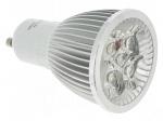 Ampoule à LED - Vision-EL - GU10 - 4 x 1.5W - 3000K - 45D - Blister