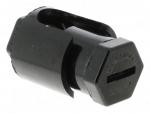 Borne anti-cisaillement - 2 x 25 mm² - Sans pattes