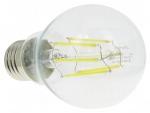 Ampoule à LED COB - Vision-EL - E27 - 8W - 4000K - Bulb G60 - Filament - Boite