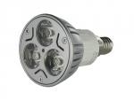 Ampoule à LED - Vision-EL - E14 - 3 x 1W - 6000K - 45D - Boite