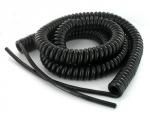 Cable spiralé 2x1 mm longueur 7 mètres