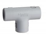Té pour tube IRL 3321 - Diamètre 16 mm - Gris - Schneider electric ENN44316
