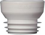 Raccord pour WC - Droit n°2 - Pour tube diamètre 100 / 110 mm côté mâle - Ceta 214-002