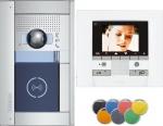 .Kit évolutif vidéo couleur Sfera avec platine encastré 2 fils 1 appel
